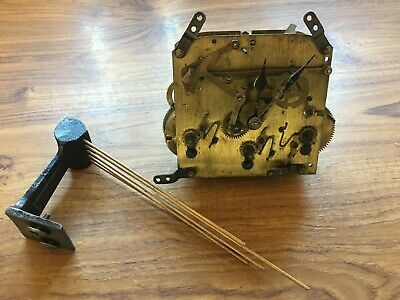 Old Norland Clock Movement For Spares Or Repairs