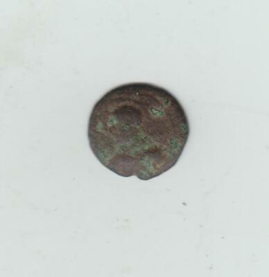 Unidentified Ancient Bronze Coin, Probably Greek Or Roman, 16-17mm Diameter