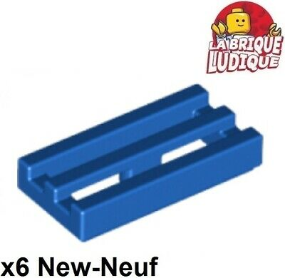 Dark Bluish Gray Tile Modified 1x1 with Clip Lego x 4 15712 NEUF