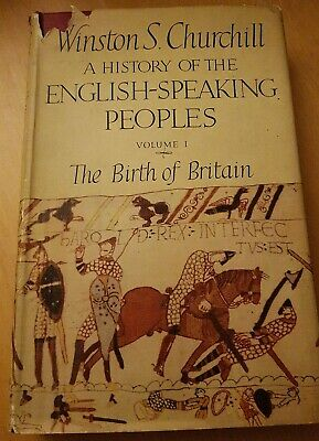 A history of the english speaking peoples 1956 hardback book. Winston Churchill
