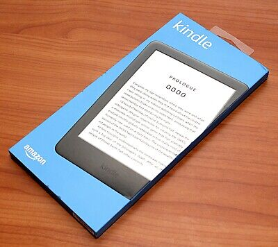 """NEW Amazon KINDLE 2019 10th GEN E-reader 6"""" 4GB Front Light Special Offers BLACK"""