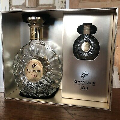 Empty Remy Martin Cognac Fine Champagne Limited Edition Bottles 70cl 5cl