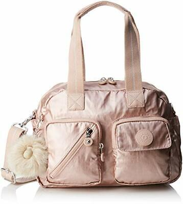 Kipling Defea Up, Cartables femme, Or (Metallic Blush), 19(Or (Metallic Blush))