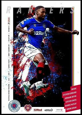 Rangers v Heart of Midlothian 1.12.2019