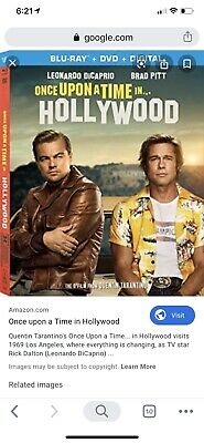once upon a time in hollywood New In Pkg Never Open