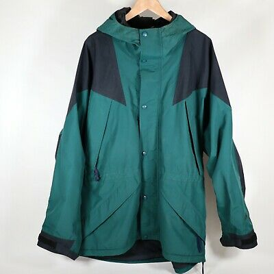 VTG Eastern Mountain Sports EMS Mens XL Gore-tex Winter Ski Jacket Hooded