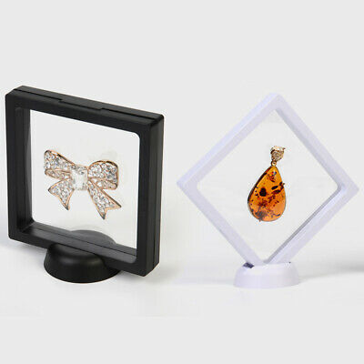 Clear Display Stand Suspension box Holder Frame Protector Commemorative