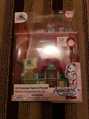 Disney Animators' Collection Littles Lilo Surprise Feature Playset - New in Box