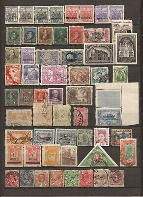 Older World Wide Mini Stamp Collection- 95 stamps / MNH / Unused / Used