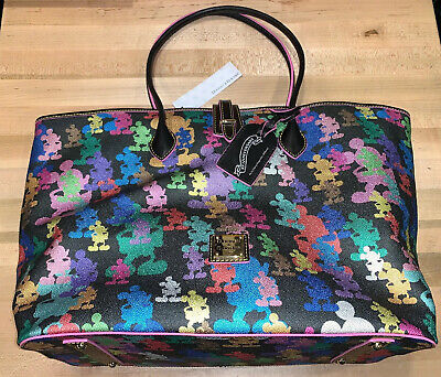 Disney Parks 10th Anniversary Wonder Mickey Large Tote by Dooney and Bourke New!