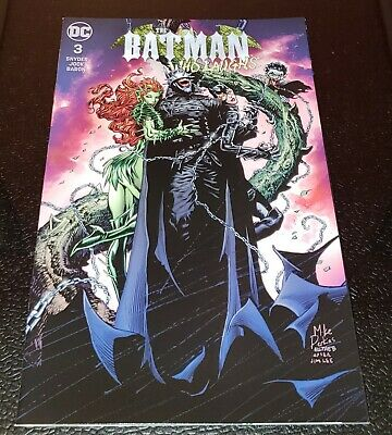 Batman Who Laughs #3 Unknown Mico Suayan Variant 9.4 NM