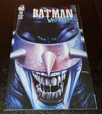 Batman Who Laughs #5 Unknown Mico Suayan Variant 9.4 NM