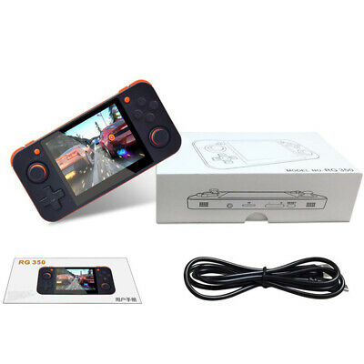 1 Set RG350 Handheld Video Game Console Mini 3.5 Inch IPS Screen Game Player 32G