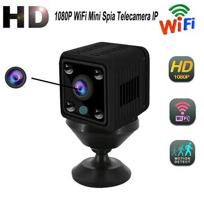 Full HD 1080P WiFi Mini Spia Telecamera IP Micro Wireless Camera Nascosta
