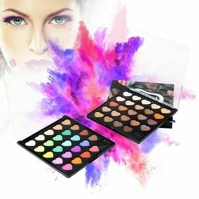 Waterproof Mineral Powder Palette Eye Makeup Tool Glitter Matte Eyeshadow