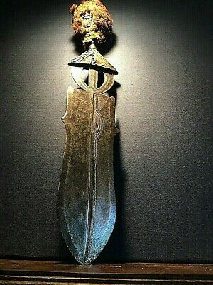 African sword dagger POTO Congo early 20th century rare ethnographic art weapon