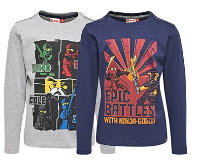 Brand New With Tags Boys 2 Pack Lego Wear Tops Age 4 years