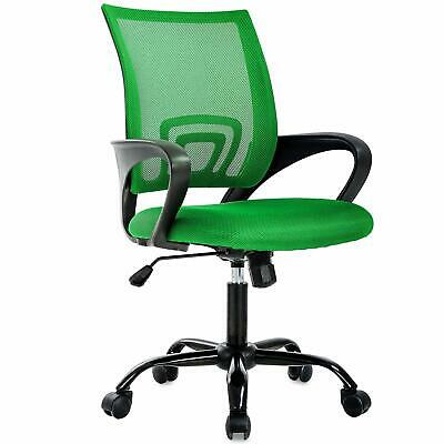 Green Adjustable Task  Swivel Chair Back Support Ergonomic computer Office Chair