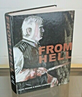 FROM HELL - Hardcover  Graphic novel - Alan Moore and Eddie Campbell (B2-W937)