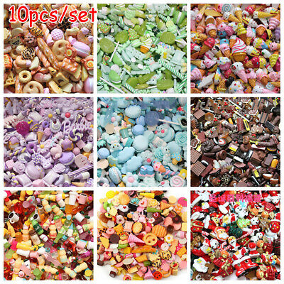 Cake Candy 1:12 Dollhouse Accessories Resin Miniature DIY Jewelry Phone Decor