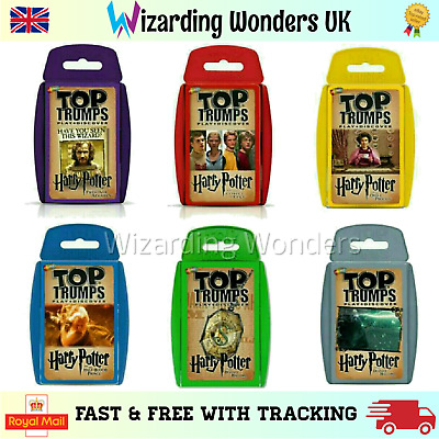 Harry Potter Official Top Trumps Card Game Gift