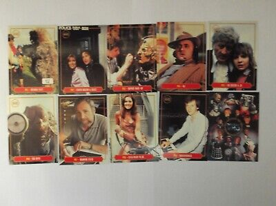 """Strictly Ink - Doctor Who  """"40th ANNIVERSARY"""" L/E UK 10 Trading Cards promo set"""