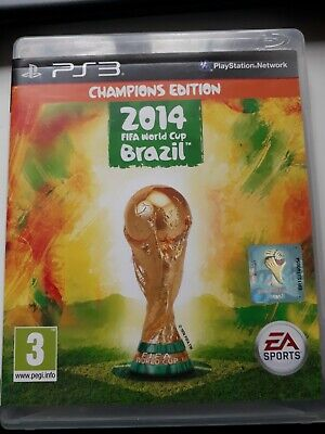 Chamions edition. 2014 FIFA World Cup Brazil (Sony PlayStation 3, 2014) USED.