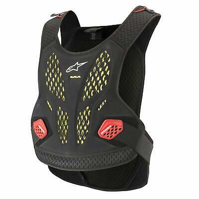 Alpinestars Sequence Body Armour Chest Protection - Anthracite Red All Sizes