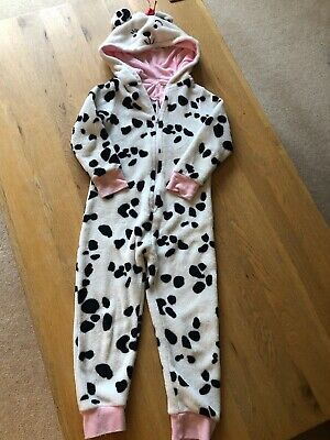 John Lewis Dalmation Fleece All In OneAge 5