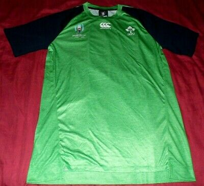 Ireland Tee Shirt Rugby World Cup RWC 2019 Size L New With Tags