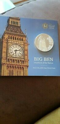 Genuine Royal Mint 2015 Big Ben Commerative Coin £100