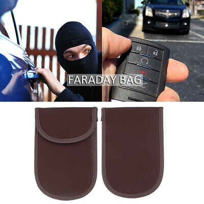 Keyless Car Key Bag Entry Cover Case Brown 1pcs Replace Accessory Anti-theft