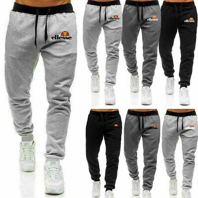 Men's Joggers Track Pants Sports Trousers Casual Sweatpants Gym Bottoms