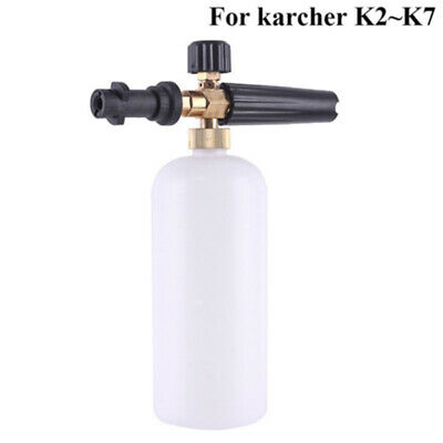High Pressure Washer Sprayer Snow Foam Lance Tool Soap Bottle 1L Car Cleaning