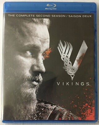 Viking The Complete Second Season 2 (New Blu-Ray Sealed See Pictures!)