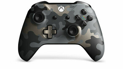 New Microsoft Xbox One Night Ops Camo Controller Wireless Bluetooth Windows 10