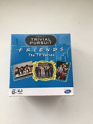Friends Trivial Pursuit quick play travel wedge game BNIB