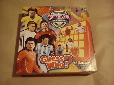 Guess Who World Football Stars Edition By Hasbro Classic Kids Game Games Family