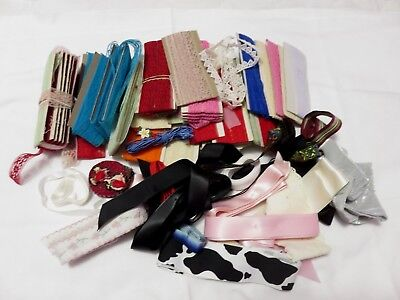 Big Lot Vintage  Lace Trim And Ribbons