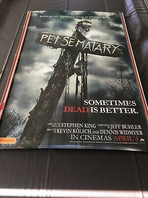 Cinema Movie Poster - Pet Sematary Scary Horror Thriller Aliens Sci-fi Alien