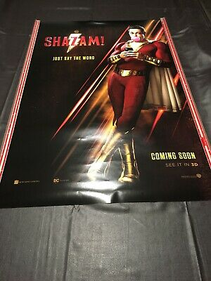 Cinema Movie Poster - Shazam! Superhero Aliens Sci-fi Alien Avengers Comic