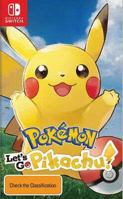 Pokemon Let's Go, Pikachu!  - Other game - BRAND NEW