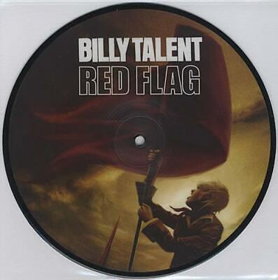 "Red Flag Billy Talent UK 7"" vinyl picture disc single AT0256 ATLANTIC RECORDS"