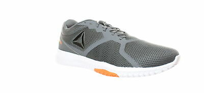 Reebok Mens Flexagon Force Grey/Fieora/White Cross Training Shoes Size 13