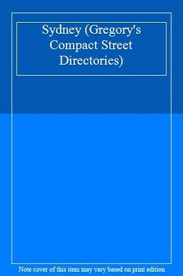 Sydney (Gregory's Compact Street Directories). 9780731910717