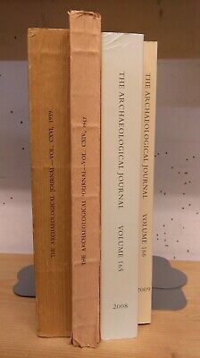 The Archaeological Journal: Collection of 4 Volumes 1957-2009