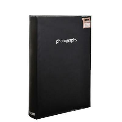 ARPAN Large Black Memo Slip In Photo Album 300 6x4 Photos