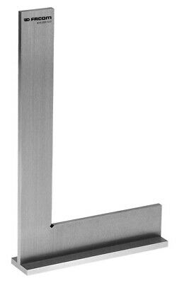 Facom Stainless Steel Flanged Precision Square Class 0 819.200CLO 200x130mm