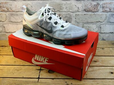 Mens Nike Air Vapormax 2019 Grey Fitness Gym Running Trainers Size 8.5 Rrp £165