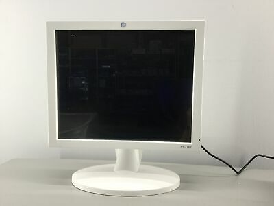 """GE USE1911A CDA19T LCD Display Monitor 19"""" with Power Supply"""